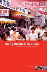 Doing Business in China - Chao Xi
