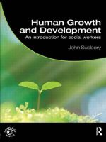 Human Growth and Development : An Introduction for Social Workers - John Sudbery