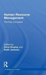 Human Resource Management : The Key Concepts - Chris Rowley