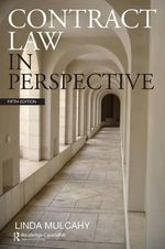 Contract Law in Perspective - Linda Mulcahy