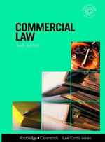 Commercial Lawcards : Seventh Edition - Routledge-Cavendish