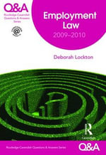 Employment Law Q&A 2009-2010 - Deborah Lockton