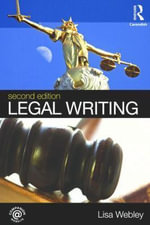 Legal Writing - Lisa Webley