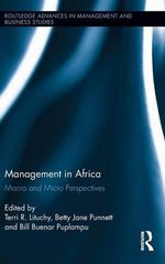 Management in Africa : Macro and Micro Perspectives