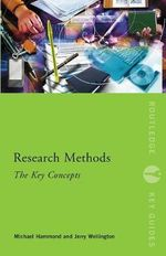 Research Methods : The Key Concepts - Michael Hammond
