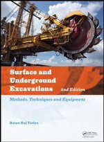 Surface and Underground Excavations : Methods, Techniques and Equipment - Ratan Tatiya