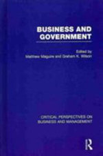 Business and Government : Financial Organizations & the Problem of Conformit...