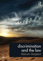 Discrimination and the Law - Malcolm Sargeant
