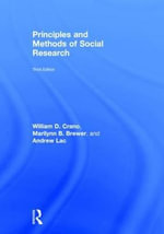 Principles and Methods of Social Research - William D. Crano