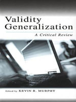 Validity Generalization : A Critical Review