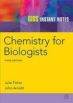 BIOS Instant Notes in Chemistry for Biologists : Instant Notes - Julie Fisher