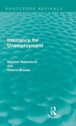 Insurance for Unemployment - Michael Beenstock