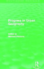Progress in Urban Geography - Michael Pacione