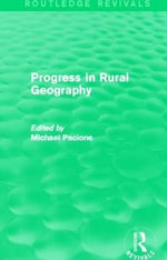 Progress in Rural Geography : An Overview