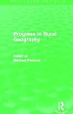 Progress in Rural Geography