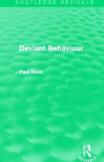 Deviant Behaviour - Paul Rock