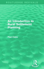 An Introduction to Rural Settlement Planning - Paul Cloke