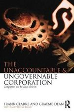 The Unaccountable and Ungovernable Corporation : Companies' Use-by-date Closes in - Frank Clarke