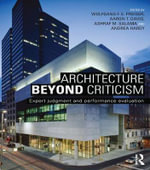 Architecture Beyond Criticism : Expert Judgment and Performance Evaluation