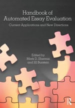 Handbook of Automated Essay Evaluation : Current Applications and New Directions