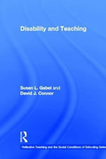 Disability and Teaching - Susan Gabel