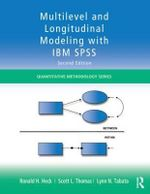 Multilevel and Longitudinal Modeling with IBM SPSS - Ronald H. Heck