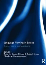 Language Planning in Europe : Cyprus, Iceland and Luxembourg