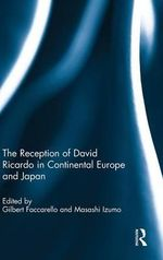 The Reception of Ricardo in Continental Europe and Japan