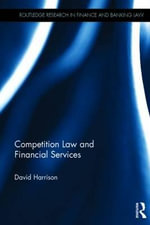 Competition Law and Financial Services - David Harrison