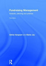Fundraising Management : Analysis, Planning and Practice - Adrian Sargeant
