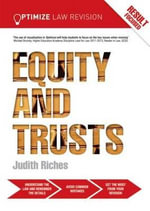 Optimize Equity and Trusts : Revision Guide - Judith Riches