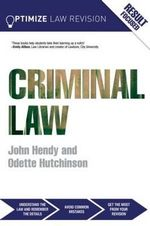 Optimize Criminal Law : Optimize - John Hendy
