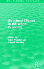 Structural Change in the World Economy : Job Creation and Policy in Developing Countries an...