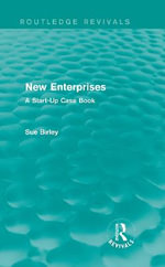 New Enterprises : A Start-Up Case Book - Sue Birley