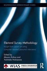 Electoral Survey Methodologies : Insight into Japan's Computer Assisted Methods