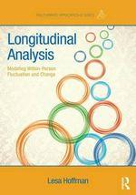 Longitudinal Analysis : Modeling Within-Person Fluctuation and Change - Lesa Hoffman