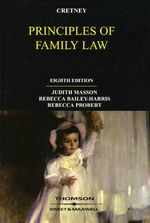 Cretney's Principles of Family Law - Judith Masson