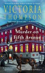 Murder on Fifth Avenue : P.S. (Paperback) - Victoria Thompson