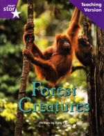 Fantastic Forest Purple Level Non-Fiction : Forest Creatures Teaching Version - Catherine Baker