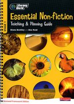 Literacy World Stage 1 : Essential Non-Fiction Teaching & Planning Guide Framework England/Wales