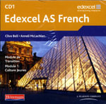 Edexcel A Level French (AS) Audio CD Pack of 3
