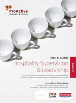ProActive Level 3 Hospitality Supervision and Leadership - Marjory Clark
