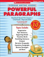 Overhead Writing Lessons : Powerful Paragraphs - Rawlings Miller