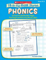 Fill-In-The-Blank Stories: Phonics : 50 Cloze-Format Practice Pages That Target and Teach Key Phonics Skills - Linda B Ross