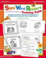 Sight Word Readers Teaching Guide : Strategies, Activities, Reproducilbe Mini-Books & Flashcards to Teach the First 50 Sight Words - Linda Beech