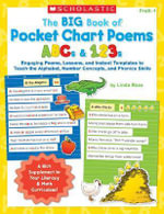 The Big Book of Pocket Chart Poems : ABCs & 123s - Linda B Ross