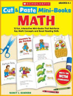 Math, Grades K-1 : 15 Fun, Interactive Mini-Books That Reinforce Key Math Concepts and Boost Reading Skills - Nancy I Sanders