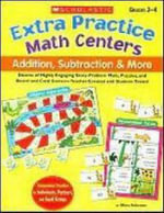 Extra Practice Math Centers : Addition, Subtraction and More - Mary Peterson