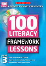 100 New Literacy Framework Lessons for Year 3 with CD-Rom : Italy, the North, and Spain, 1500-1600 - Gillian Howell