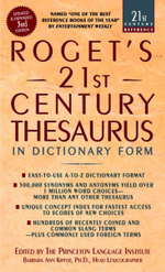 Rogets 21st Century Thesaurus : In Dictionary Form - Barbara Ann Kipfer